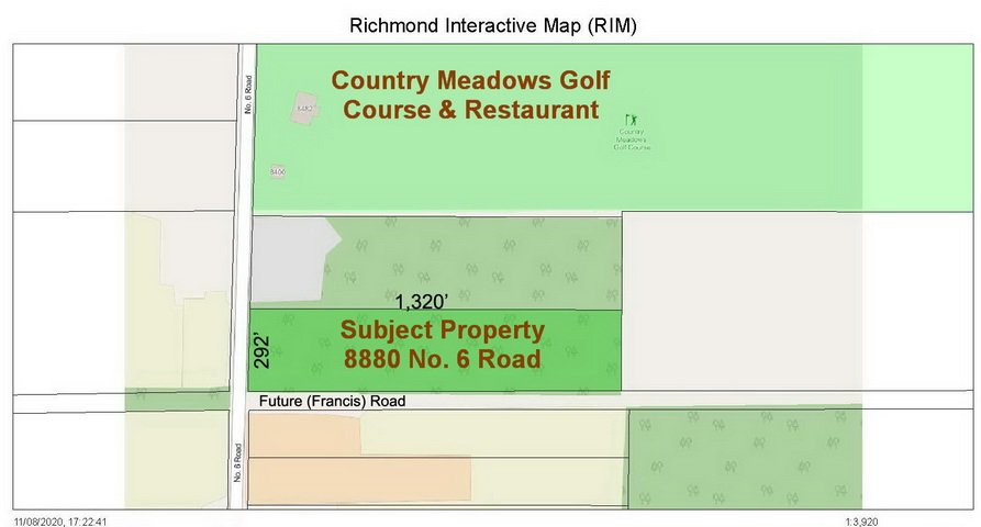 Main Photo: 8880 NO. 6 Road in Richmond: East Richmond Land for sale : MLS®# R2485503