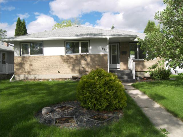 Main Photo: 537 Nathaniel Street in WINNIPEG: Manitoba Other Residential for sale : MLS®# 1010766
