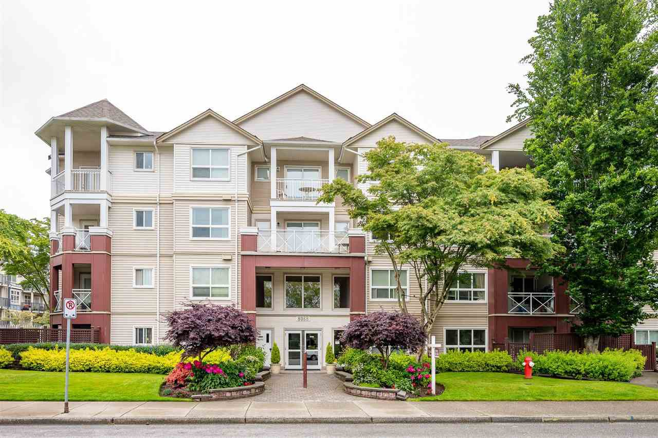 "Main Photo: 410 8068 120A Street in Surrey: Queen Mary Park Surrey Condo for sale in ""Melrose Place"" : MLS®# R2464731"