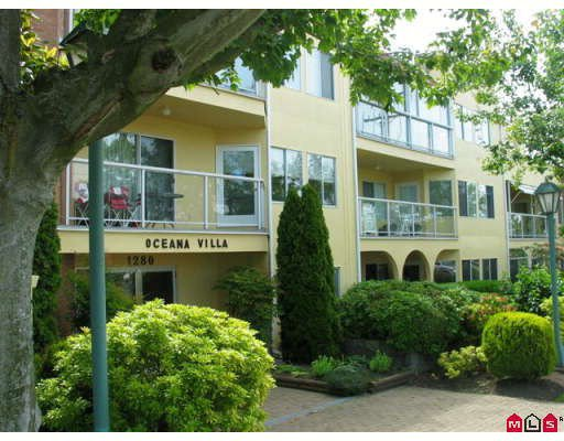 "Main Photo: 404 1280 FIR Street in White_Rock: White Rock Condo for sale in ""Oceana Villa"" (South Surrey White Rock)  : MLS®# F2818703"