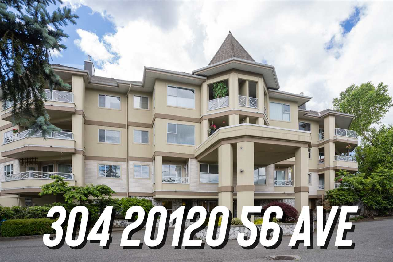 "Main Photo: 304 20120 56 Avenue in Langley: Langley City Condo for sale in ""Blackberry Lane 1"" : MLS®# R2467299"