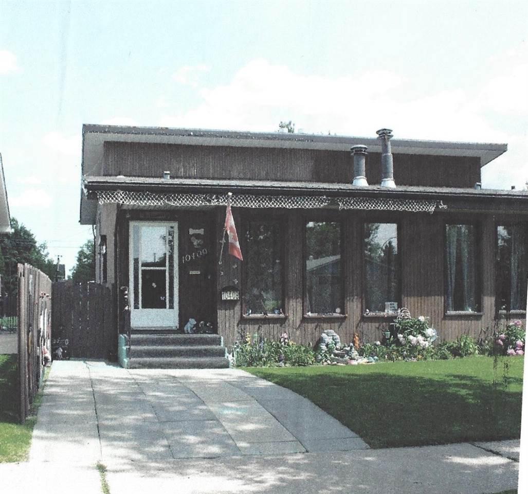 Main Photo: 10409 154 Street in Edmonton: Zone 21 House Half Duplex for sale : MLS®# E4180144