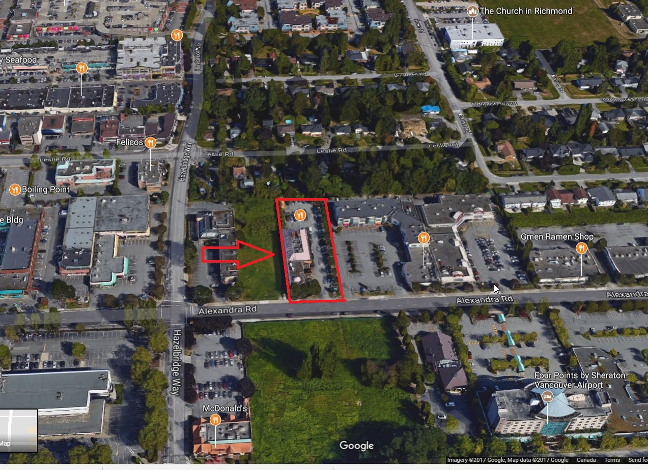 Main Photo: 8251 Alexandra Road in Vancouver: West Cambie Retail for sale (Richmond)  : MLS®# C8013757