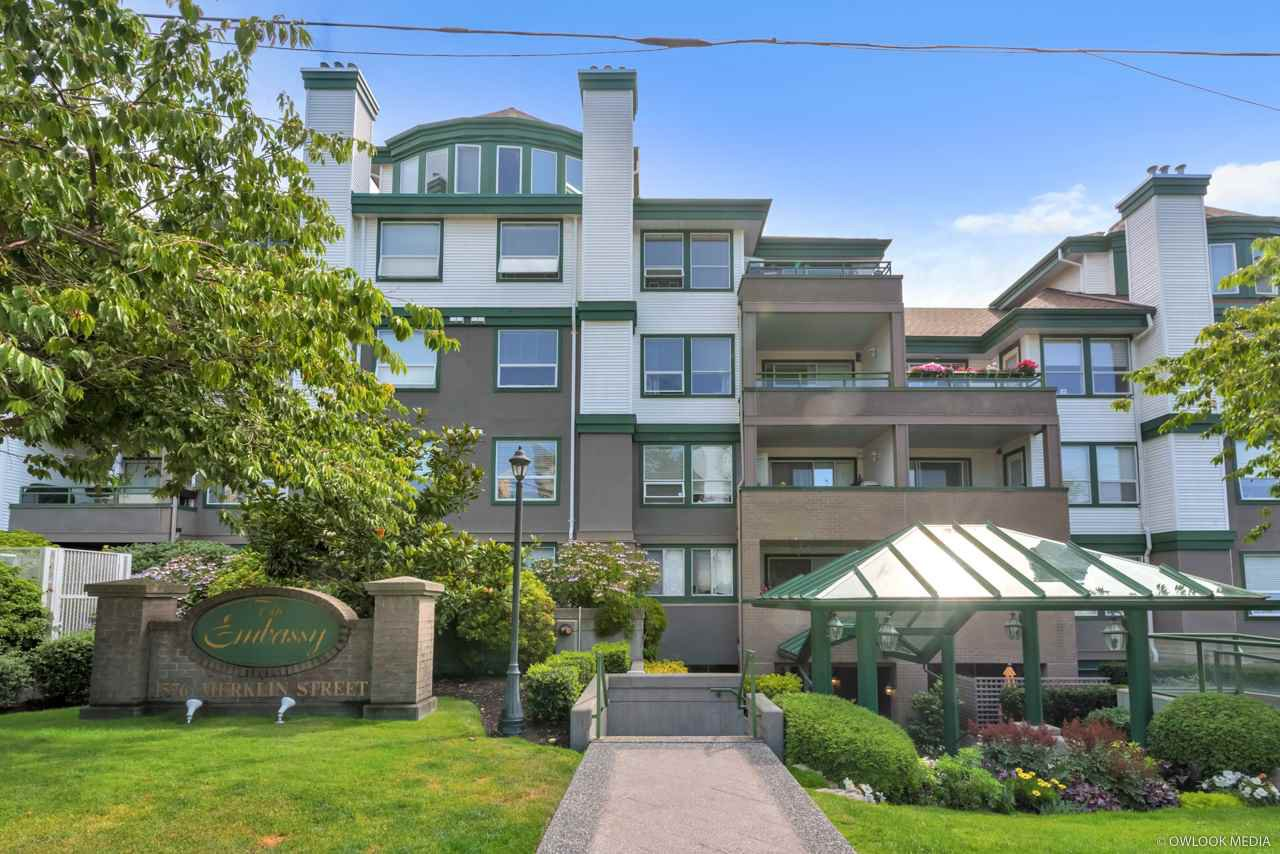 "Main Photo: 310 1576 MERKLIN Street: White Rock Condo for sale in ""The Embassy"" (South Surrey White Rock)  : MLS®# R2487146"