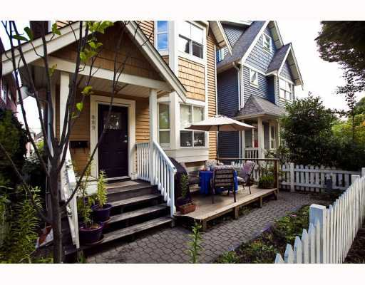 Main Photo: 889 PRIOR Street in Vancouver: Mount Pleasant VE House 1/2 Duplex for sale (Vancouver East)  : MLS®# V812016