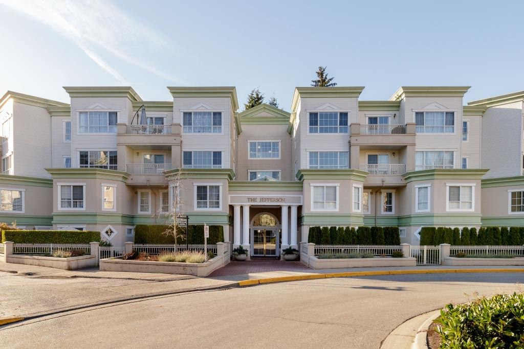 "Main Photo: 422 2960 PRINCESS Crescent in Coquitlam: Canyon Springs Condo for sale in ""THE JEFFERSON"" : MLS®# R2421605"