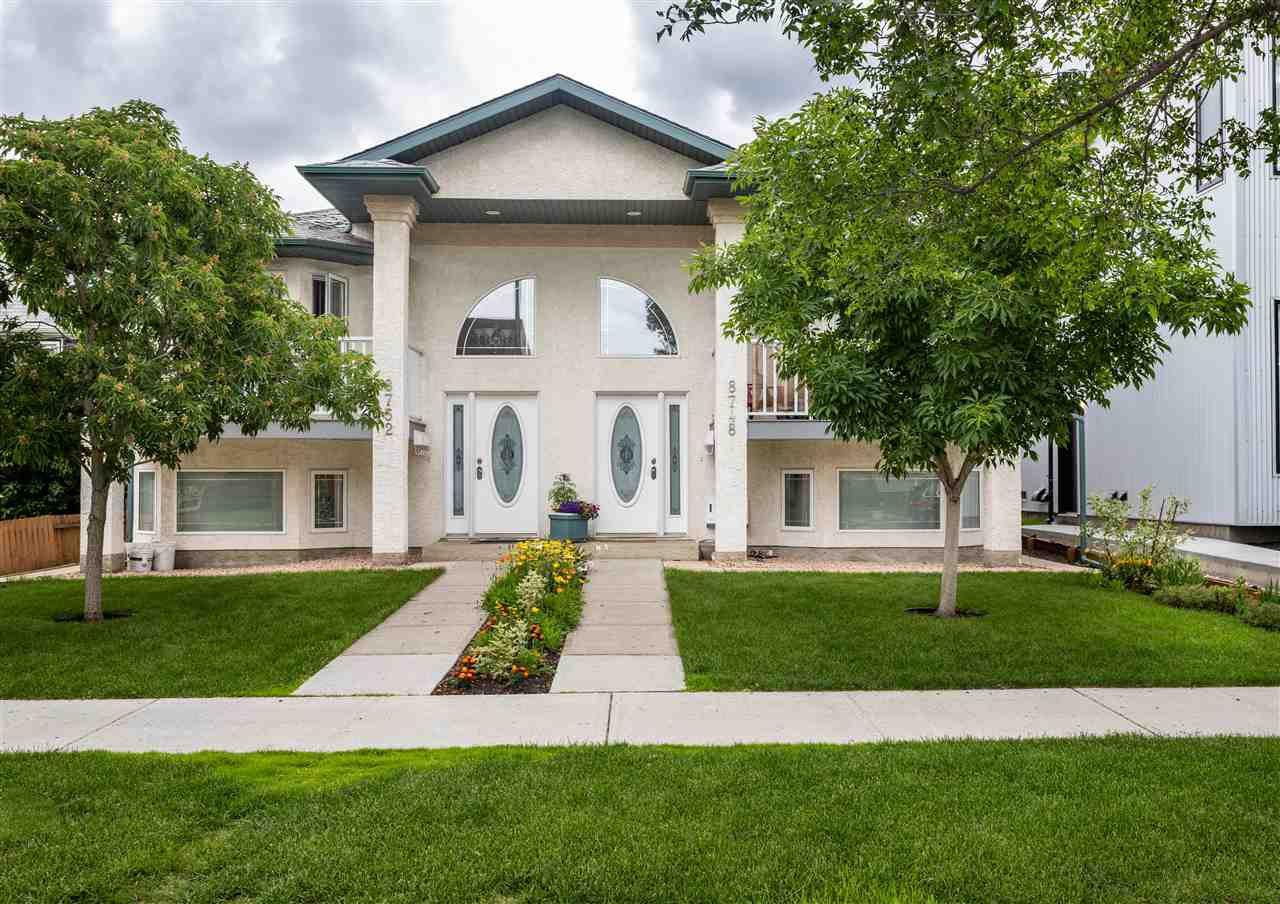 Main Photo: 8748-8752 77 Avenue in Edmonton: Zone 17 House Duplex for sale : MLS®# E4203341