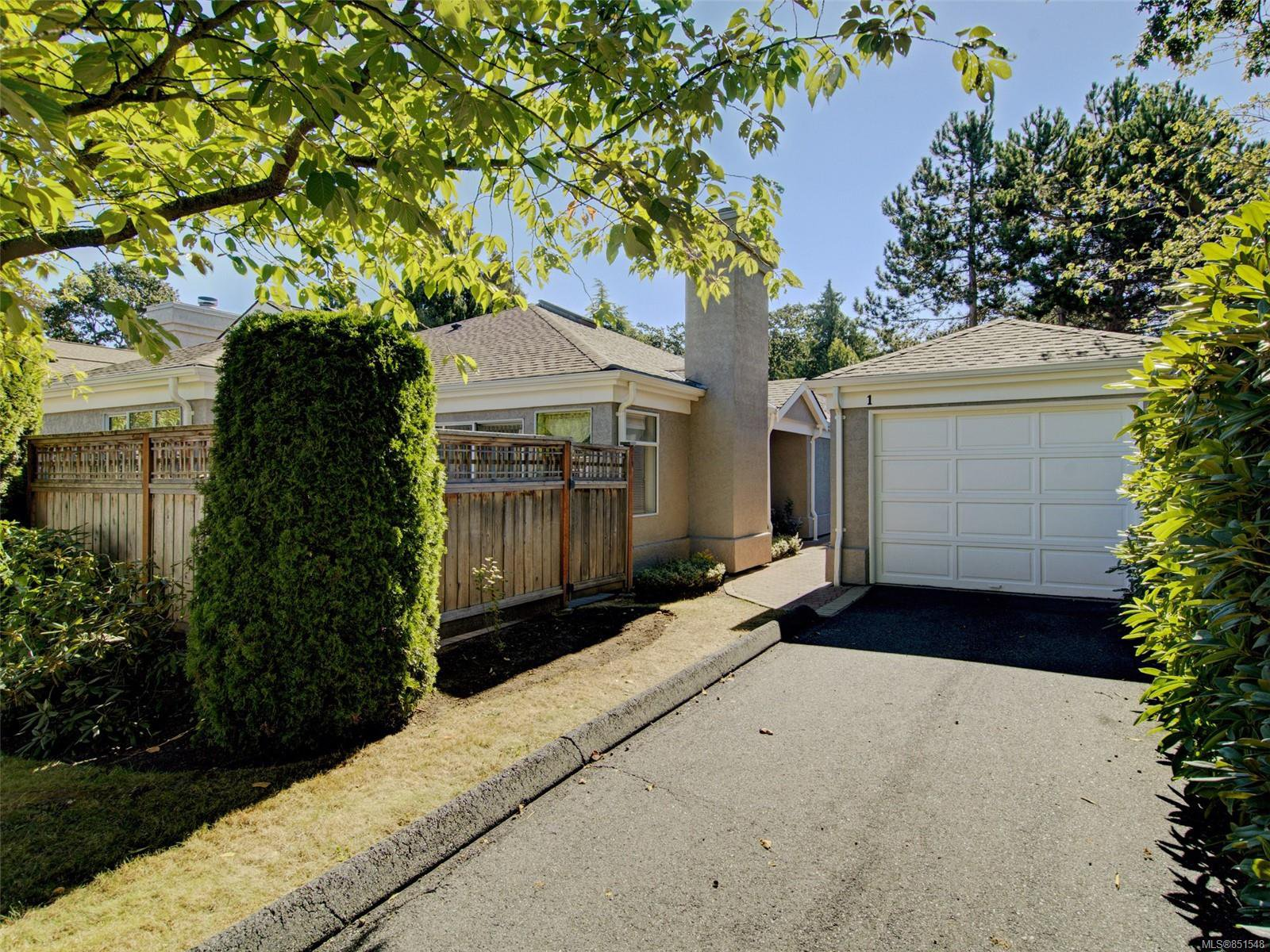 Main Photo: 1 3969 Cedar Hill Cross Rd in : SE Maplewood Row/Townhouse for sale (Saanich East)  : MLS®# 851548