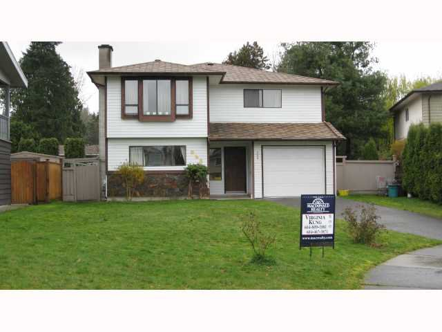 Main Photo: 968 JUDD Court in Coquitlam: Meadow Brook House  : MLS®# V818054