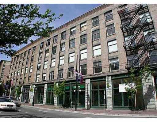 "Main Photo: 55 E CORDOVA Street in Vancouver: Downtown VE Condo for sale in ""KORET LOFTS"" (Vancouver East)  : MLS®# V627716"
