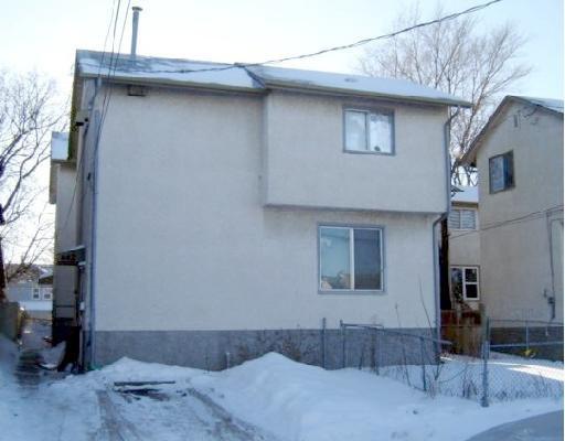 Main Photo: 442 ALEXANDER Avenue in WINNIPEG: Central Winnipeg Residential for sale : MLS®# 2800684