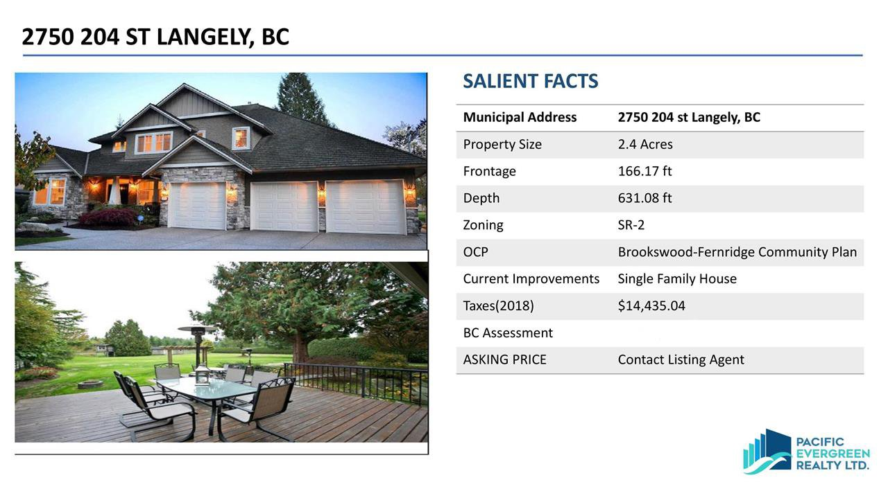 Main Photo: 2750 204 Street in Langley: Brookswood Langley House for sale : MLS®# R2461977