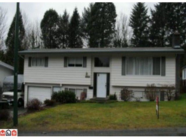 Main Photo: 2319 MIDAS Street in Abbotsford: Abbotsford East House for sale : MLS®# F1100957