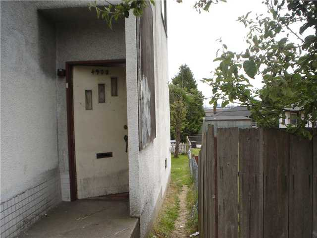 Photo 2: Photos: 4908 HASTINGS Street in Burnaby: Capitol Hill BN Land for sale (Burnaby North)  : MLS®# V833635