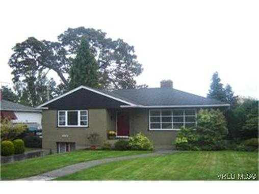 Main Photo:  in VICTORIA: SE Cedar Hill House for sale (Saanich East)  : MLS®# 447287