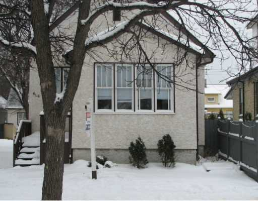 Main Photo: 606 ABERDEEN Avenue in WINNIPEG: North End Residential for sale (North West Winnipeg)  : MLS®# 2822762
