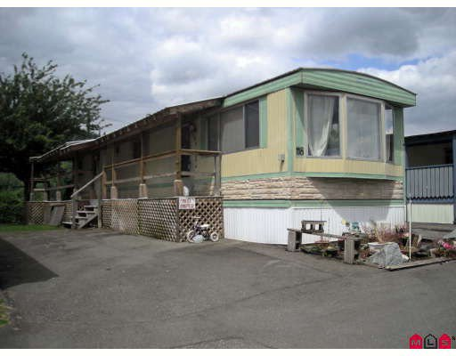 Main Photo: 118 9950 WILSON Street in Mission: Stave Falls Manufactured Home for sale : MLS®# F2818883