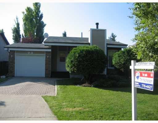 Main Photo: 93 LAKE GROVE Bay in WINNIPEG: Fort Garry / Whyte Ridge / St Norbert Residential for sale (South Winnipeg)  : MLS®# 2816906