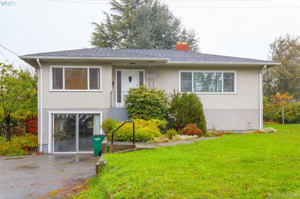 Main Photo: 3260 Cedar Hill Road in VICTORIA: SE Cedar Hill Single Family Detached for sale (Saanich East)  : MLS®# 416849