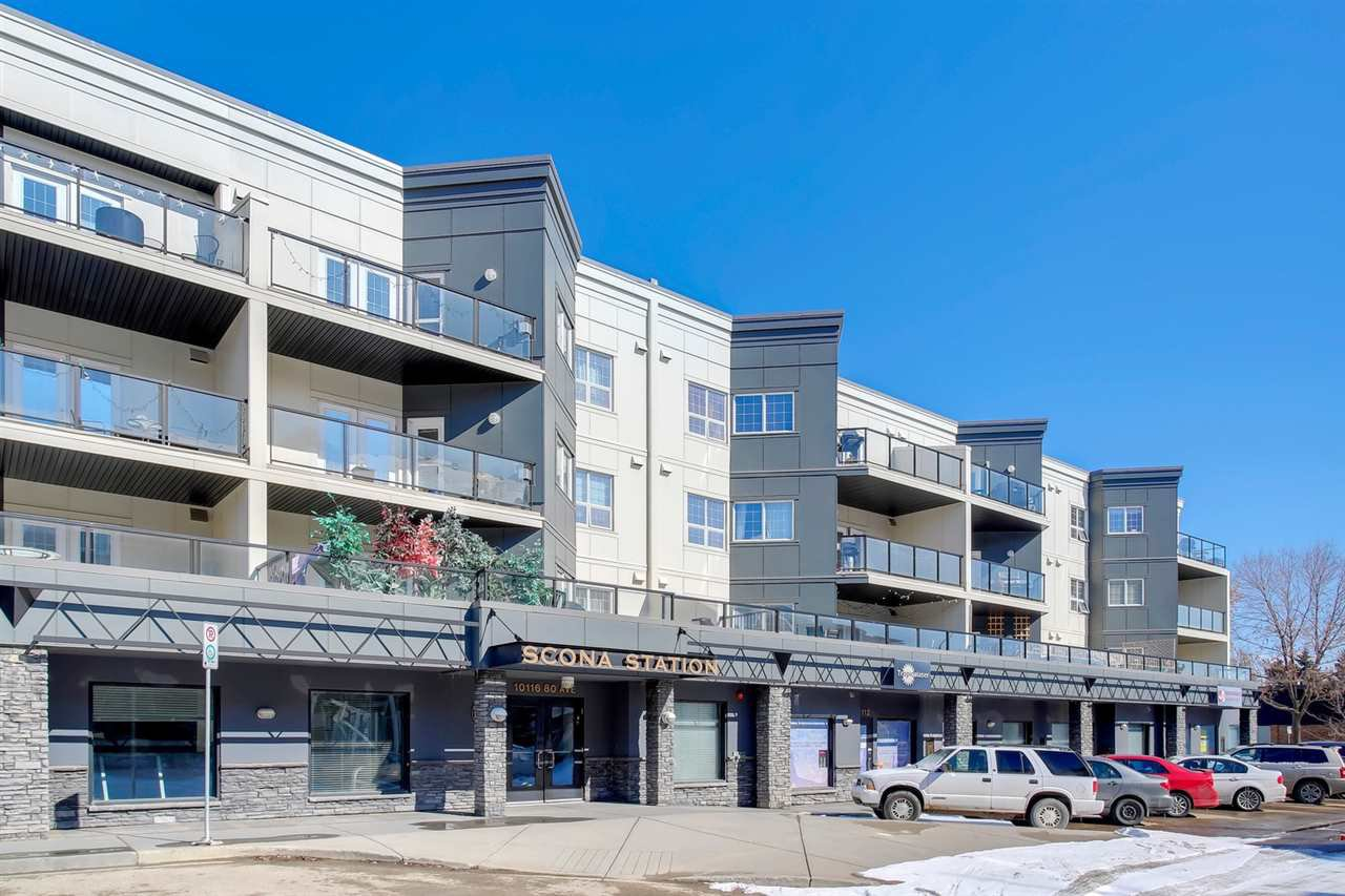 Main Photo: 309 10116 80 Avenue in Edmonton: Zone 17 Condo for sale : MLS®# E4195688