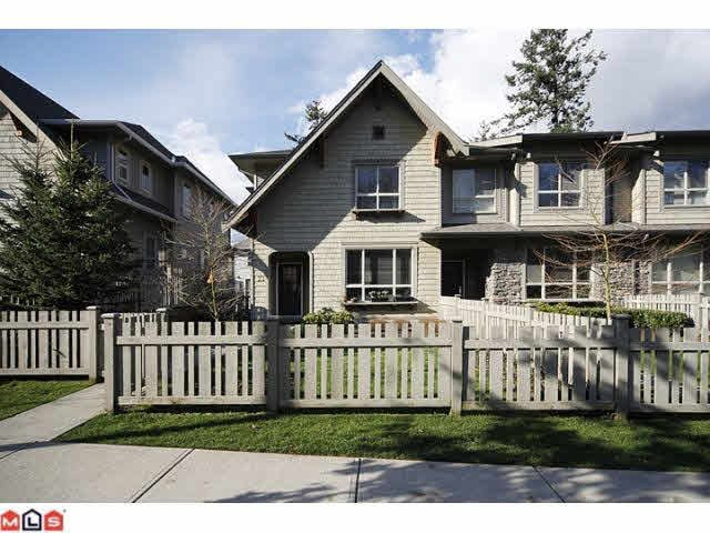 Main Photo: 22 2738 158TH STREET in : Grandview Surrey Townhouse for sale : MLS®# F1209316