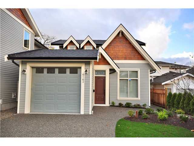 Main Photo: 6163 WALKER Avenue in Burnaby: Upper Deer Lake House 1/2 Duplex for sale (Burnaby South)  : MLS®# V858053