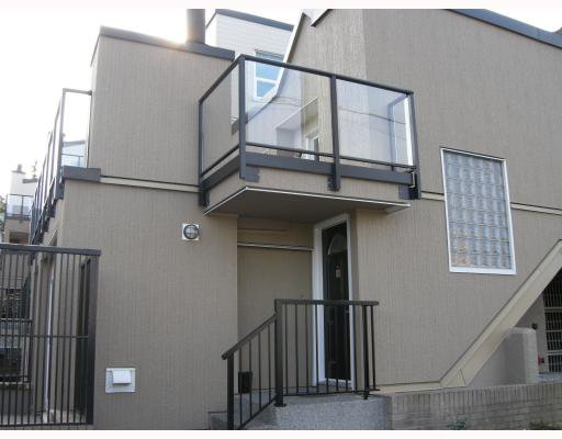 "Main Photo: 10 1350 W 6TH Avenue in Vancouver: Fairview VW Townhouse for sale in ""PEPPER RIDGE"" (Vancouver West)  : MLS®# V752874"
