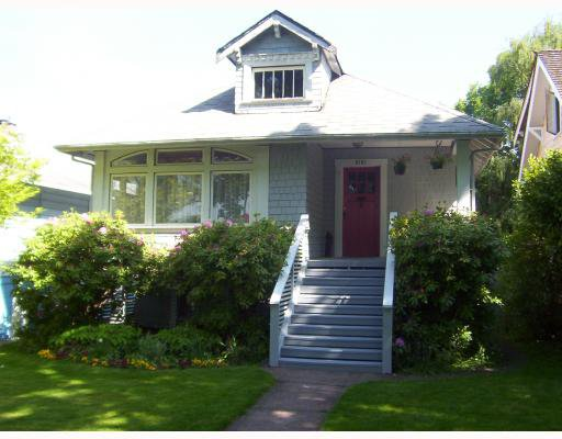 Main Photo: 2161 W 46TH Avenue in Vancouver: Kerrisdale House for sale (Vancouver West)  : MLS®# V768072
