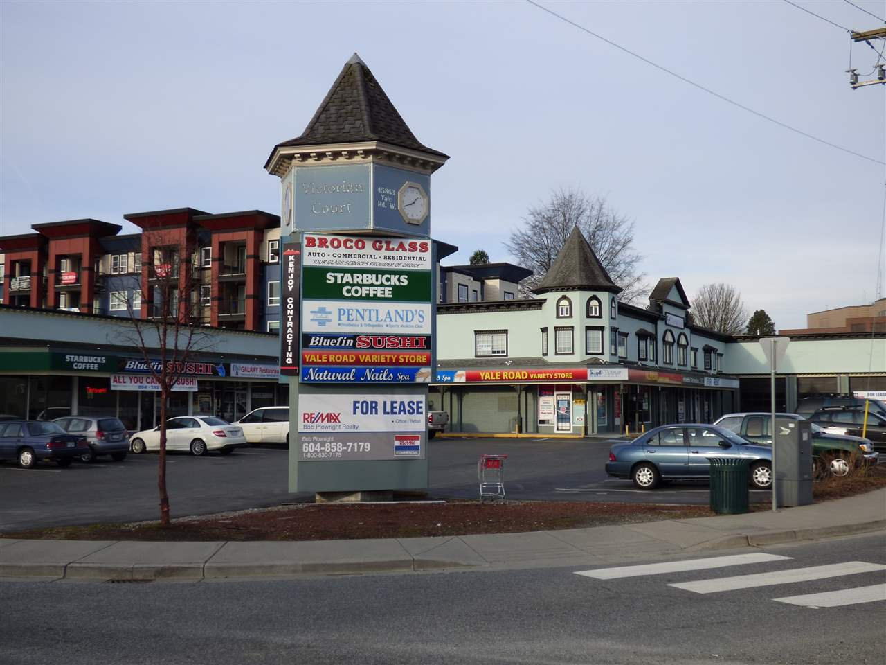 Main Photo: 203 45863 YALE Road in Chilliwack: Chilliwack W Young-Well Office for lease : MLS®# C8030850