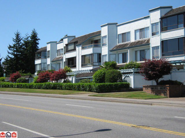 "Main Photo: 310 1830 E SOUTHMERE Crescent in Surrey: Sunnyside Park Surrey Condo for sale in ""Southmere Mews"" (South Surrey White Rock)  : MLS®# F1100591"