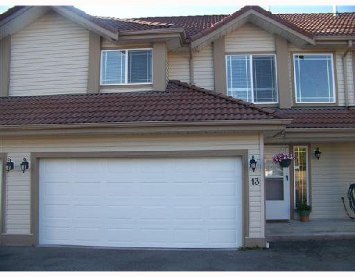 Main Photo: A13 3075 SKEENA Street in Port_Coquitlam: Riverwood Townhouse for sale (Port Coquitlam)  : MLS®# V728278