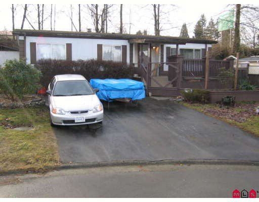 Main Photo: 33880 GILMOUR Drive in Abbotsford: Central Abbotsford Manufactured Home for sale : MLS®# F2901672