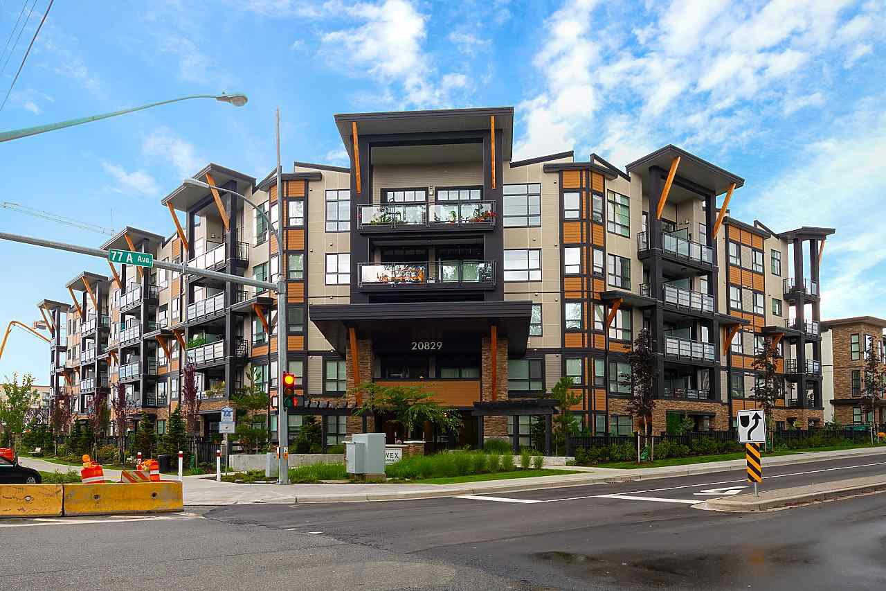 """Main Photo: 214 20829 77A Avenue in Langley: Willoughby Heights Condo for sale in """"WEX"""" : MLS®# R2426060"""