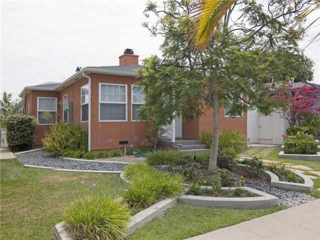 Main Photo: TALMADGE House for sale : 3 bedrooms : 4745 WINONA AVENUE in San Diego