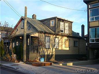 Main Photo: 119 St. Lawrence St in VICTORIA: Vi James Bay House for sale (Victoria)  : MLS®# 556315
