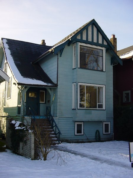 Main Photo: 3316 West 3rd Avenue: House for sale (Kitsilano)  : MLS®# V517615