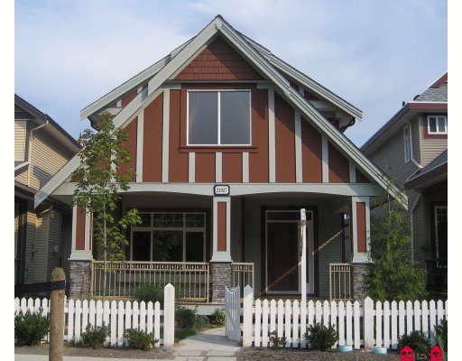 """Main Photo: 21027 83RD Avenue in Langley: Willoughby Heights House for sale in """"YORKSON"""" : MLS®# F2827266"""