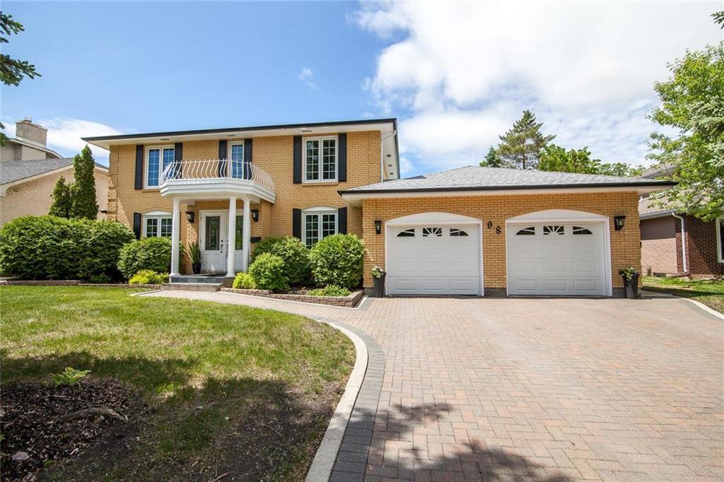 Main Photo: 98 Kinkora Drive in Winnipeg: Residential for sale (1F)  : MLS®# 202012788