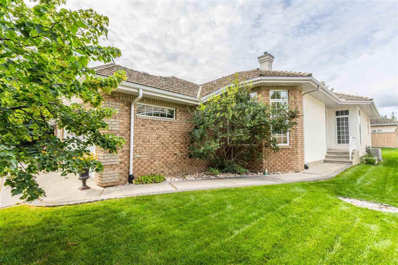 Main Photo: 6 1008 BUTTERWORTH Point in Edmonton: Zone 14 House Half Duplex for sale : MLS®# E4209273