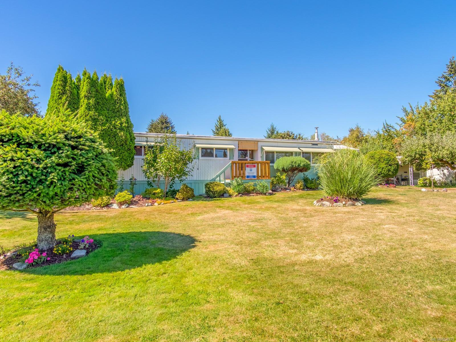 Main Photo: C 1359 Cranberry Ave in : Na Chase River Manufactured Home for sale (Nanaimo)  : MLS®# 854971