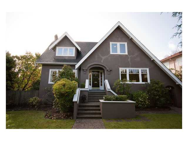 Main Photo: 1270 W KING EDWARD Avenue in Vancouver: Shaughnessy House for sale (Vancouver West)  : MLS®# V857080