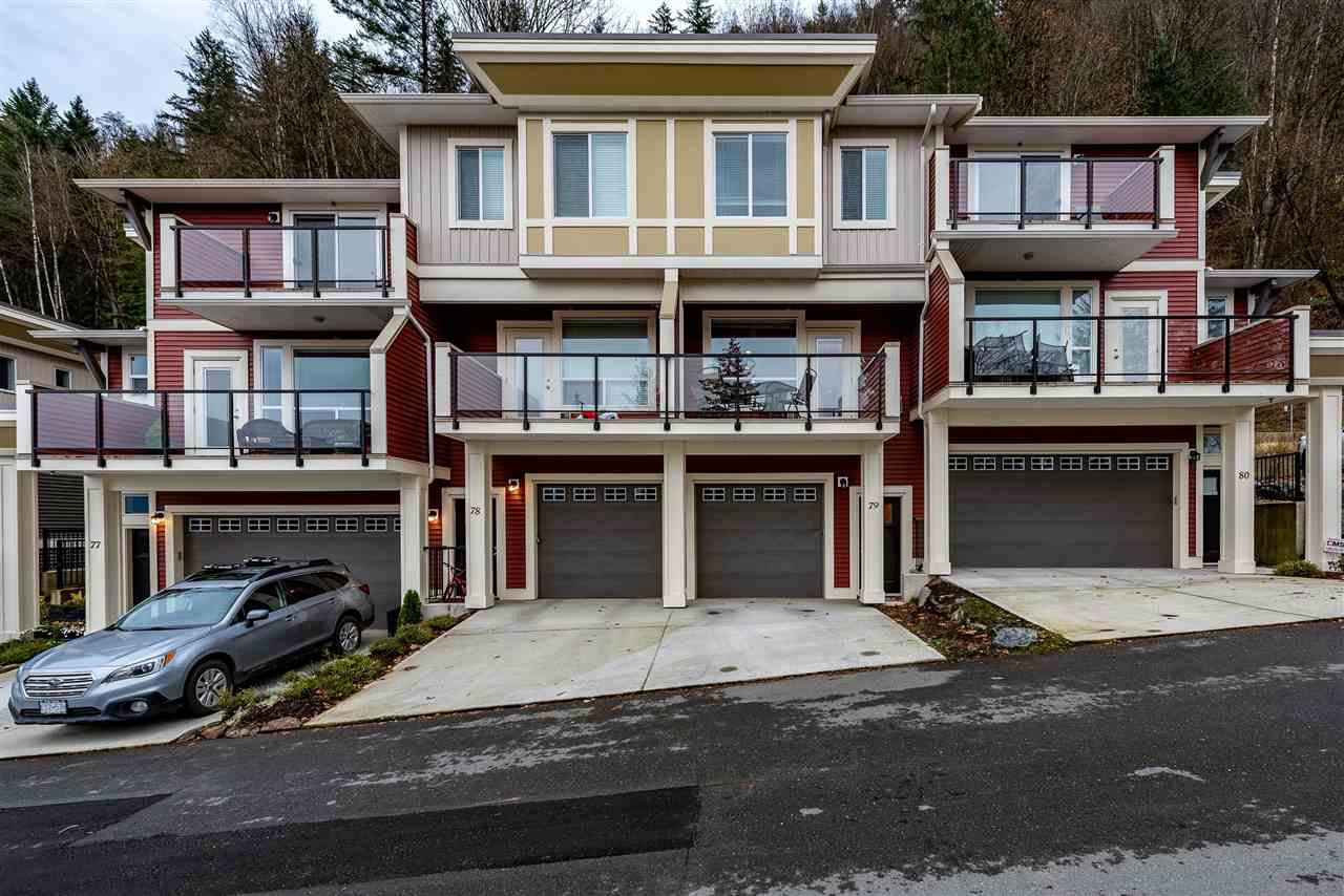 Main Photo: 79 6026 LINDEMAN STREET in Sardis: Promontory Townhouse for sale : MLS®# R2420758