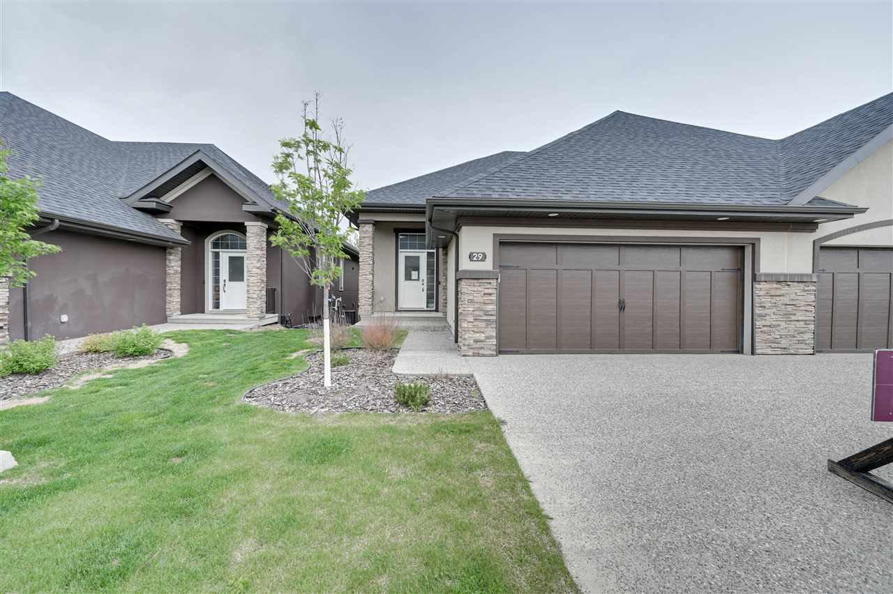 Main Photo: 23 20425 93 Avenue in Edmonton: Zone 58 House Half Duplex for sale : MLS®# E4202777