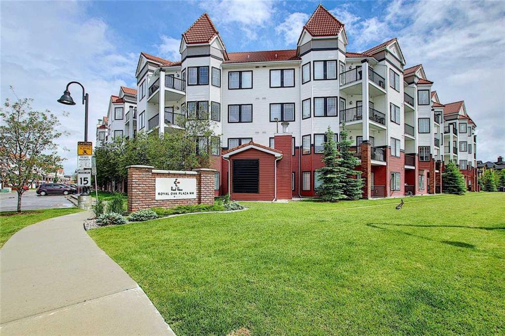 Main Photo: 138 20 ROYAL OAK Plaza NW in Calgary: Royal Oak Apartment for sale : MLS®# C4305351
