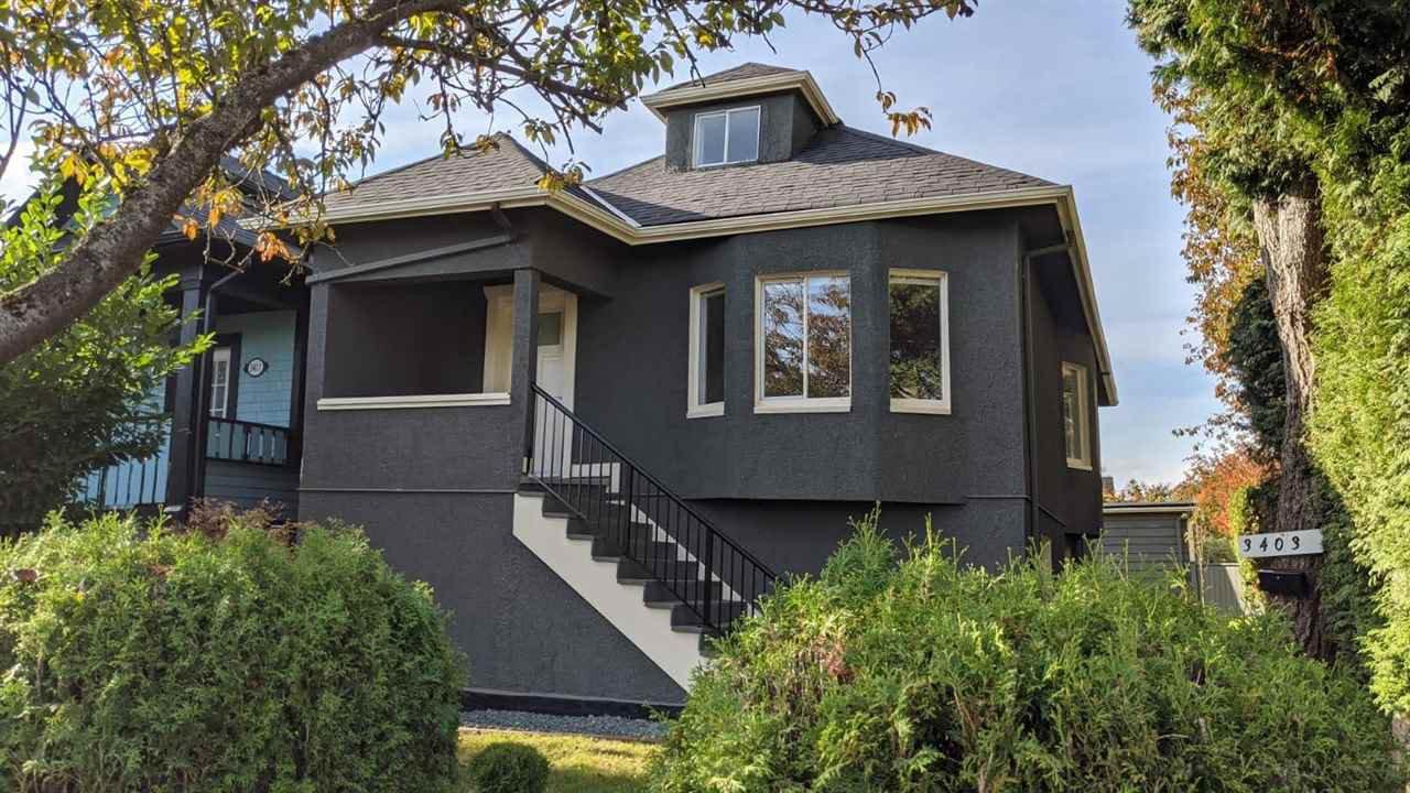 Main Photo: 3403 CAROLINA Street in Vancouver: Fraser VE House for sale (Vancouver East)  : MLS®# R2514871