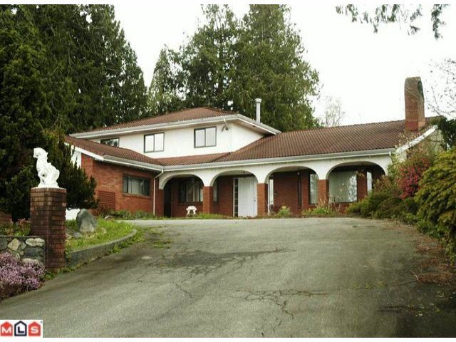 Main Photo: 20557 69TH Avenue in Langley: Willoughby Heights House for sale : MLS®# F1006695