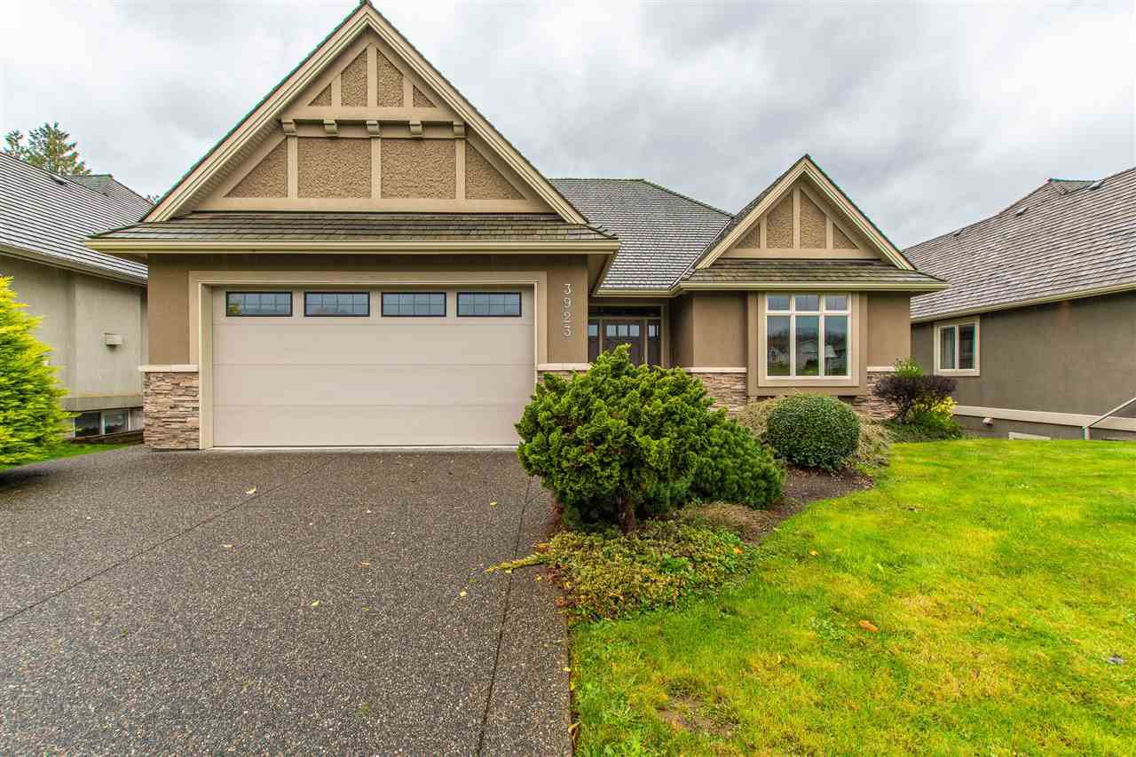 "Main Photo: 3923 COACHSTONE Way in Abbotsford: Abbotsford East House for sale in ""CREEKSTONE ON THE PARK"" : MLS®# R2418602"
