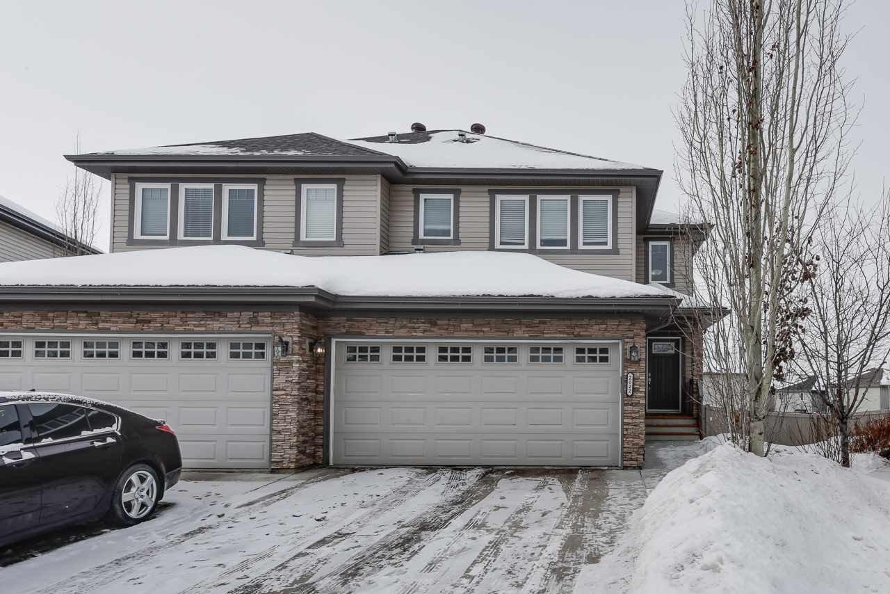 Main Photo: 2022 69A Street in Edmonton: Zone 53 House Half Duplex for sale : MLS®# E4187439