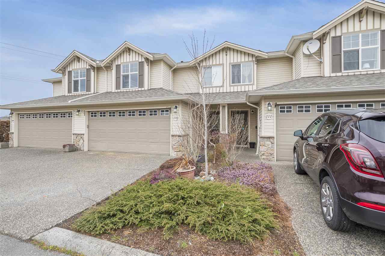 Main Photo: 110 6450 VEDDER ROAD in : Sardis East Vedder Rd Townhouse for sale : MLS®# R2356902