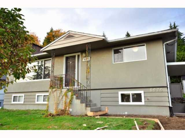 Main Photo: 5075 KEITH Street in Burnaby: South Slope House for sale (Burnaby South)  : MLS®# V813773
